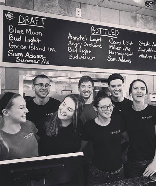 Town & Pizza 2 staff